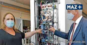Wildau: Erste mobile Ladesäule für E-Autos von ME Energy geht an den Start - Märkische Allgemeine Zeitung