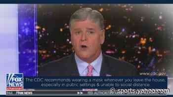 Sean Hannity puts out a PSA encouraging people to wear masks - Yahoo Sports
