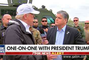 Trump stumbles through softball question from Sean Hannity, fails to name a second term priority - Salon
