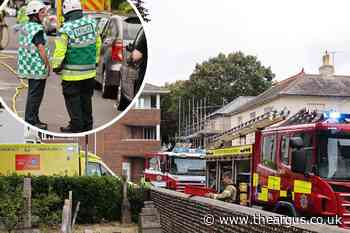 Ambrose Place Worthing chemical incident: Man in hospital