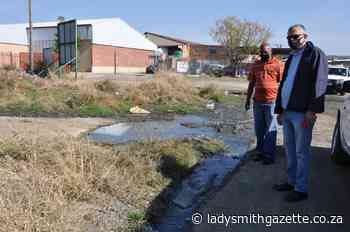 Sewage and now burst pipe affects business in Main Road - Ladysmith Gazette