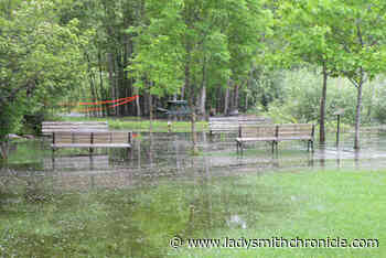 B.C.'s major rivers surge, sparking flood warnings - Ladysmith Chronicle