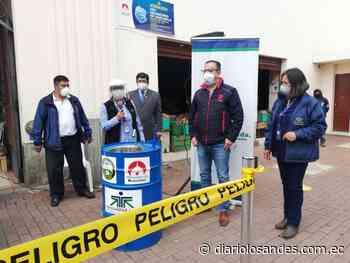 COAC Riobamba hizo donaciones al mercado San Francisco - Diario Los Andes