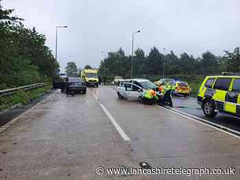 Motorists warned to avoid road near M65 after accident
