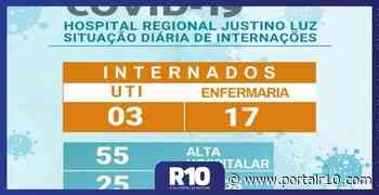 Hospital Regional de Picos registra três pacientes internados na UTI - Portal R10
