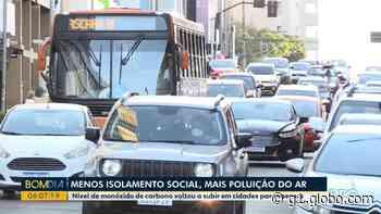 Durante a pandemia, Curitiba registra picos de poluição do ar superiores a período pré-isolamento social - G1