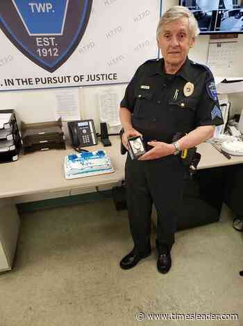 Hanover Twp. Police Sgt. Jarzenbovicz retires after 46 years of service - Wilkes Barre Times-Leader