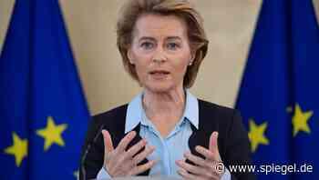 EU-Ratspräsidentschaft: Merkel und von der Leyen warnen vor Scheitern von Corona-Gipfel im Juli - DER SPIEGEL