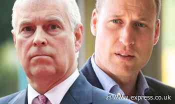 Prince William 'horrified' after Prince Andrew's bombshell revelation, claims expert - Express