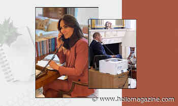 Prince William and Kate Middleton's chic home offices are easy to recreate on a budget: Get the look - HELLO!