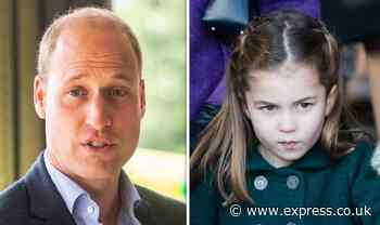 Prince William's blunt Princess Charlotte prediction exposed: 'There will be drama!' - Express