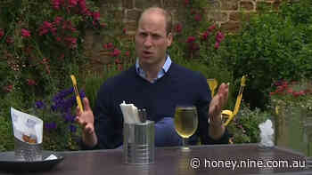 Prince William enjoys a drink as pubs in UK due to reopen - 9Honey