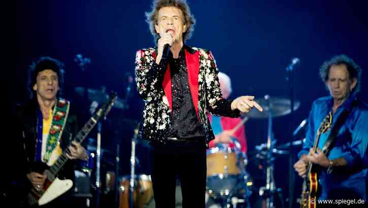 Erstmals seit 1968: Rolling Stones auf Platz eins der deutschen Singlecharts - DER SPIEGEL
