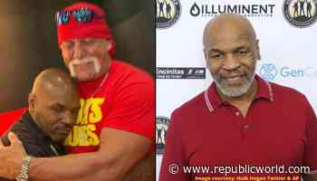 Throwback shot of Mike Tyson hugging WWE legend Hulk Hogan makes fans bask in nostalgia - Republic World - Republic World