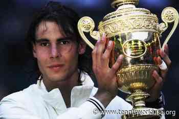 Rafael Nadal: 'I'm honored to win two Wimbledon titles, it's a special event' - Tennis World USA