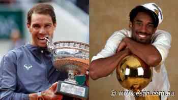 Fan vote: Rafael Nadal at French Open vs Kobe Bryant's LA Lakers - ESPN Australia
