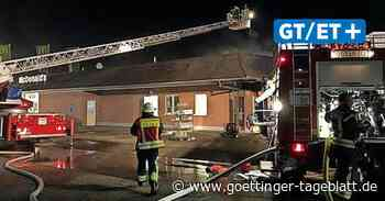 Brand bei McDonald's in Duderstadt: Auto fängt Feuer - Göttinger Tageblatt