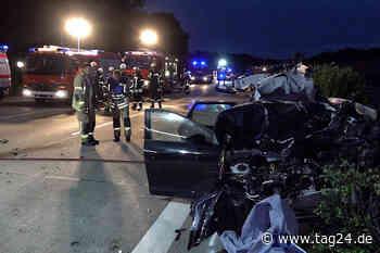 Auto in Leitplanke geschleudert: Toter bei Unfall auf der A2 - TAG24