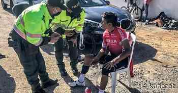 Rad-Star Quintana wurde vom Auto angefahren - KURIER