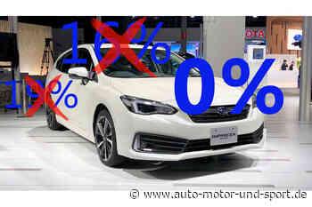 Sparen beim Autokauf: Diese Hersteller erlassen die Mehrwertsteuer - auto motor und sport