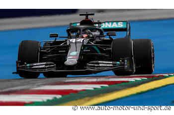 GP Österreich 2020 - Ergebnis Training 2: Mercedes dominiert den Freitag - auto motor und sport