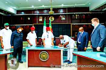 Julius Berger to Reconstruct Owerri/Orlu & Owerri/Okigwe roads, as Imo Govt. Signs MoU - The Nigerian Voice