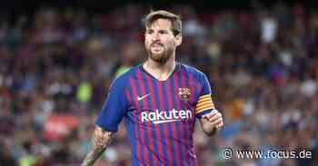 Transfer-News: Lionel Messi soll FC Barcelona im nächsten Jahr verlassen - FOCUS Online