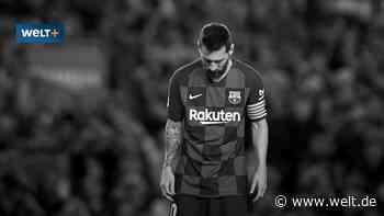 Lionel Messi und der FC Barcelona: Über den Zenit - WELT - WELT
