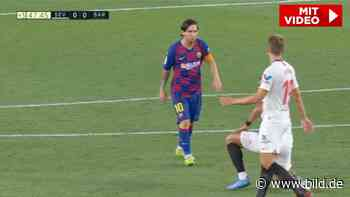 FC Barcelona: Beleidigt Lionel Messi die Mutter seines Gegenspielers? - BILD
