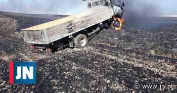 Cinco feridos, um deles grave, em incêndio no concelho de Aljustrel - Jornal de Notícias
