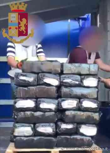 Milano, traffico internazionale di stupefacenti: Polizia arresta autotrasportatore spagnolo con 350 kg di hashish - ilMetropolitano.it