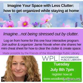 Virtual Program - Imagine Your Space with Less Clutter - Patch.com