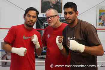 Amir Khan chances of beating Manny Pacquiao dismissed by Wild Carder - WBN - World Boxing News