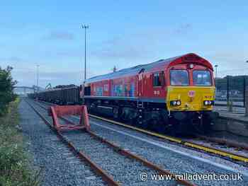 Newhaven Marine Aggregate Terminal in Sussex to focus on rail freight - RailAdvent - Railway News