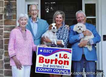 Burton files for second term on Sussex County Council - CapeGazette.com