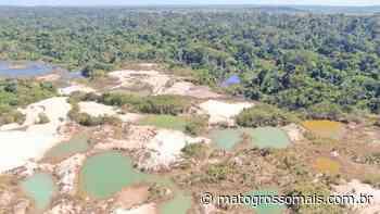 Garimpo ilegal entre as regiões de Carlinda e Alta Floresta é multado - Matogrossomais