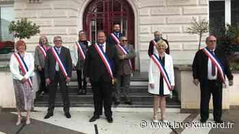 Somain : Julien Quennesson installé sans problème dans le fauteuil de maire - La Voix du Nord