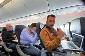 """Onze man vliegt naar Alicante: """"Mondmaskers gaan op het vliegtuig gewoon uit"""""""