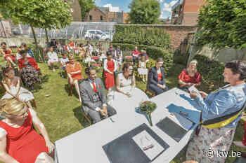 In Wervik kan je nu ook trouwen in de tuin van het stadhuis