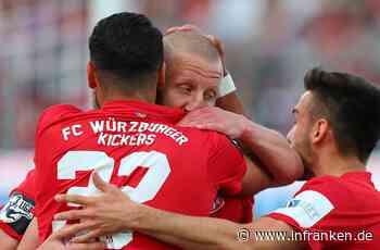 Großer Jubel bei den Franken: Würzburger Kickers steigen in 2. Bundesliga auf