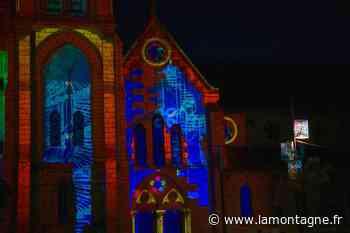 Sorties - [ En images ] De retour à Cusset, le spectacle « Lumières sur le Bourbonnais » sublime le patrimoine local - La Montagne