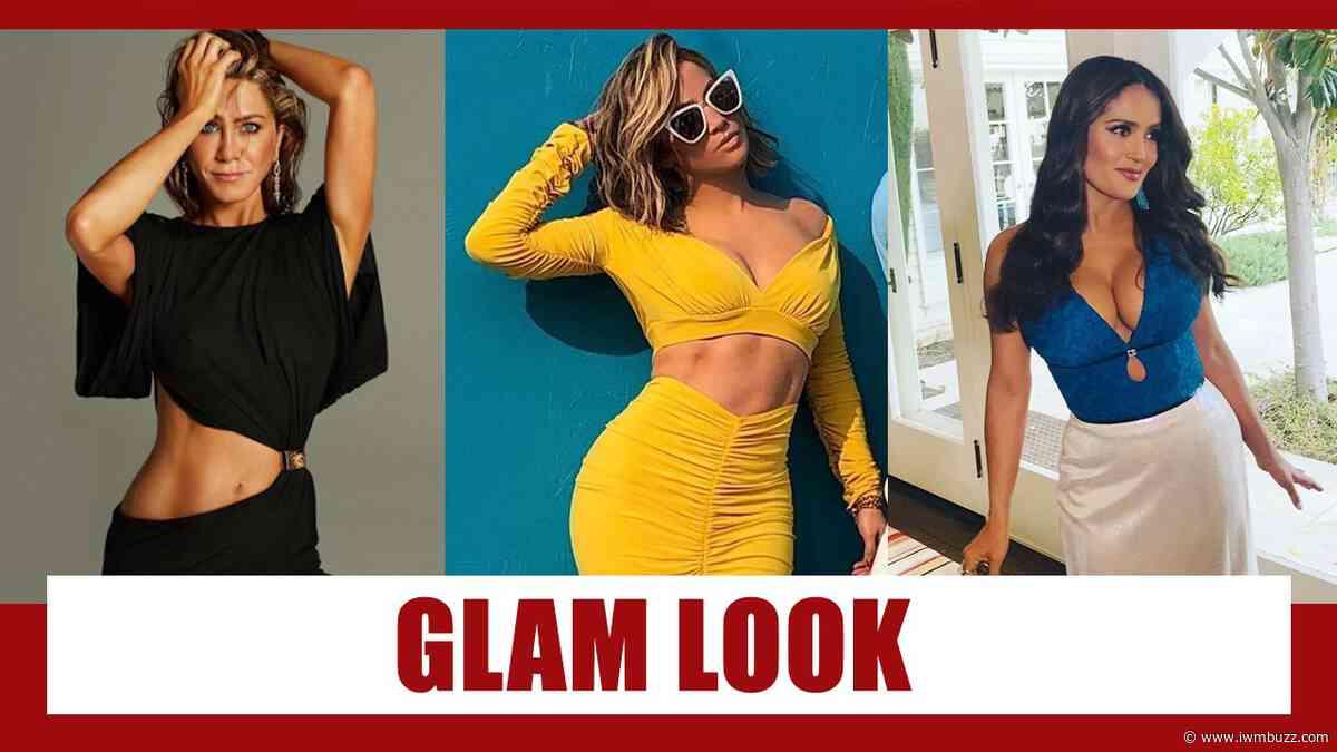 Jennifer Aniston, Jennifer Lopez, Salma Hayek: Best Two Piece Glamorous Look - IWMBuzz