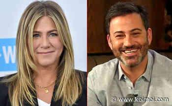 Jennifer Aniston & Jimmy Kimmel Team Up To Surprise A Nurse Battling COVID-19 - Koimoi