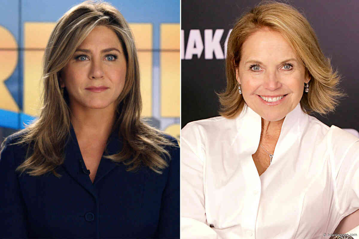 Katie Couric finally speaks out on Jennifer Aniston in 'The Morning Show' - News Lagoon - News Lagoon