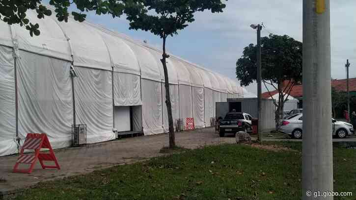 Hospital de campanha começa a ser desmontado em Casimiro de Abreu, RJ, após governo desistir de unidades - G1