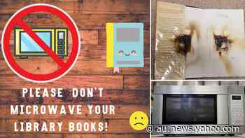 Why people are microwaving library books - Yahoo News Australia