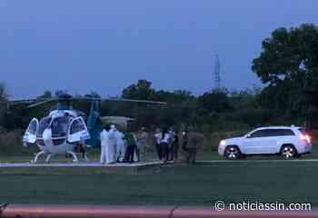 En estado delicado trasladan en helicóptero al diputado Darío Zapata desde Dajabón - Noticias SIN - Servicios Informativos Nacionales