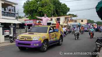 En Dajabón PLD cierra campaña con caravana - El Masacre