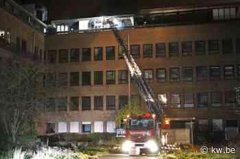 Opnieuw brand in oude Sint Jozef Ziekenhuis in Oostende
