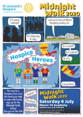 St Leonard's Hospice Hero Midnight Walk - Manor CE Academy - Gazette & Herald